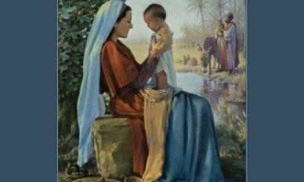 Tomar o lugar de Maria junto de Jesus