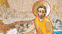 O santo é apóstolo