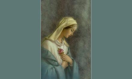 Ser humilde como Maria!