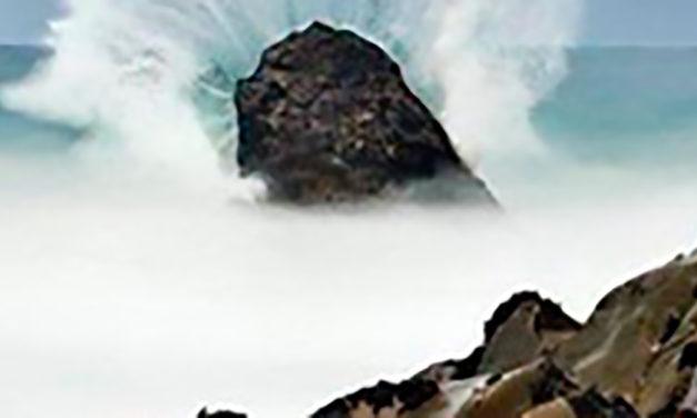 Jesus é a rocha firme da minha vida