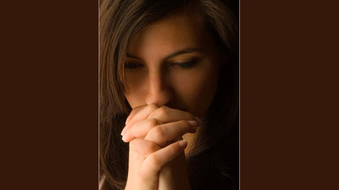 Na oração terás tudo.