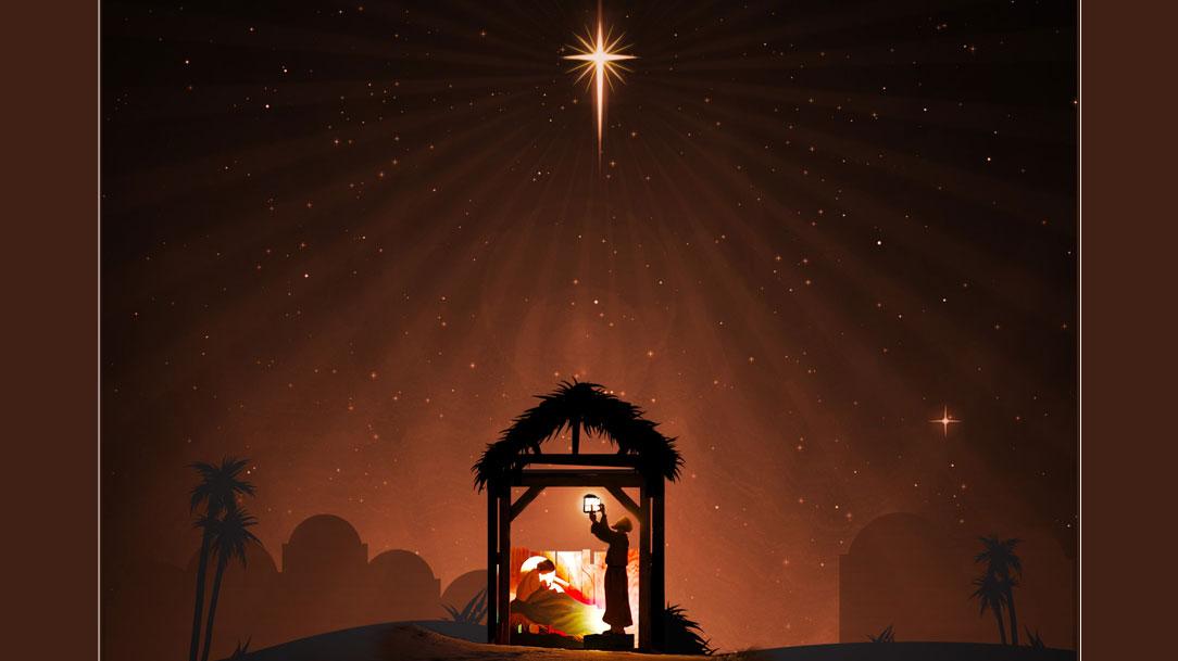 É incomensurável a humildade do Teu nascimento!