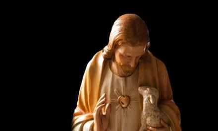 Jesus rodeia-me de amor