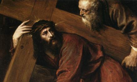 Viver de amor é abraçar a cruz