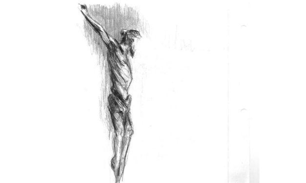 Do alto da Tua cruz dás-me a vida!