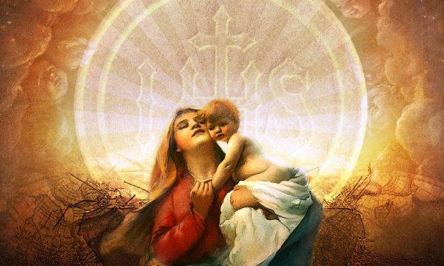 A carne de Cristo é a carne de Maria