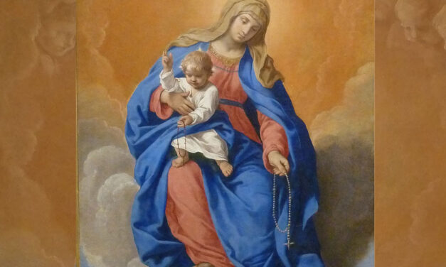Meditar os mistérios de Cristo por Maria