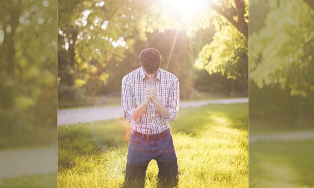 """A oração é força para responder """"sim""""."""