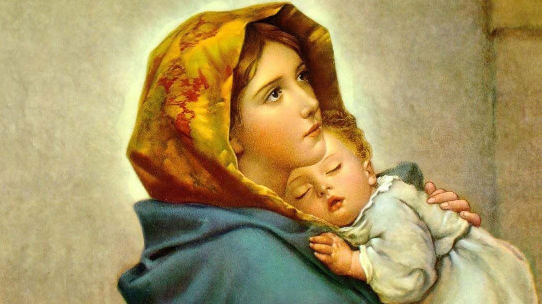 Maria, roga sempre por mim