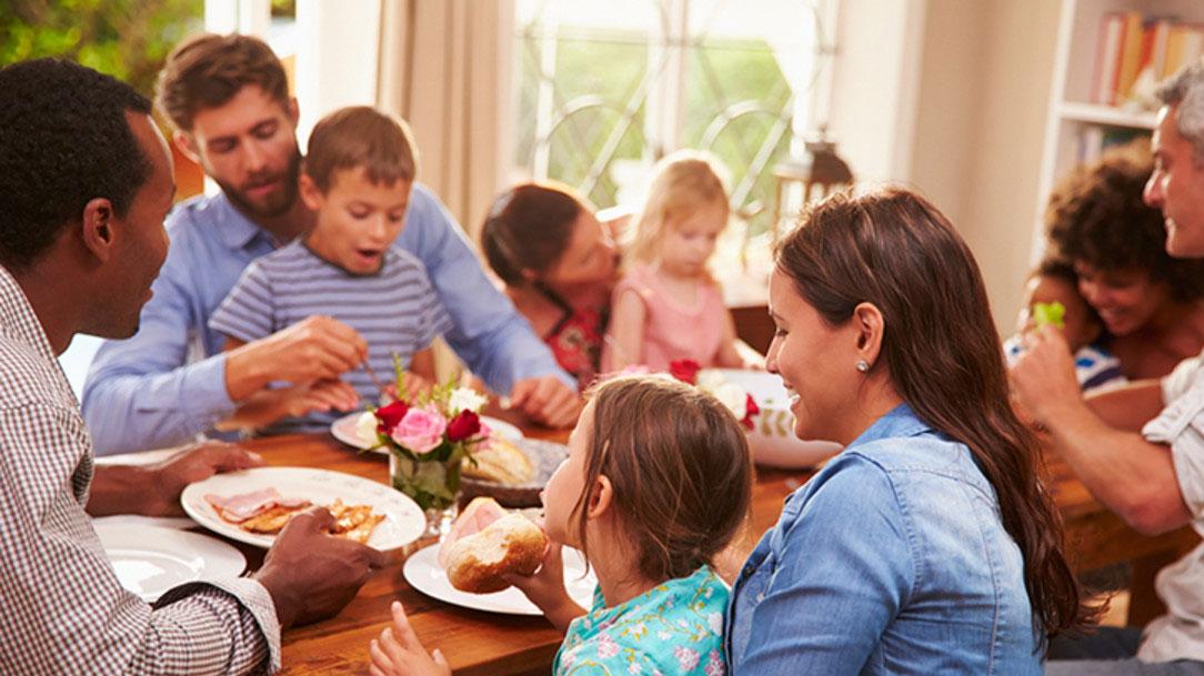 Viver em família: laboratório de um mundo melhor