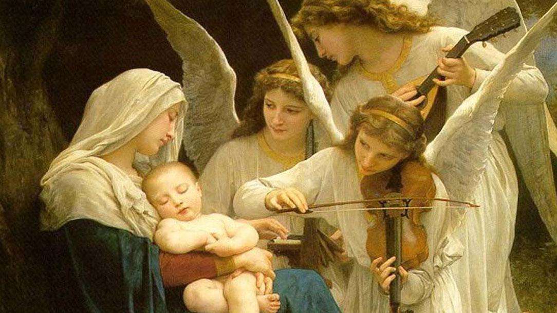 Que Maria e os Anjos vos guardem de todo o mal, na Paz.