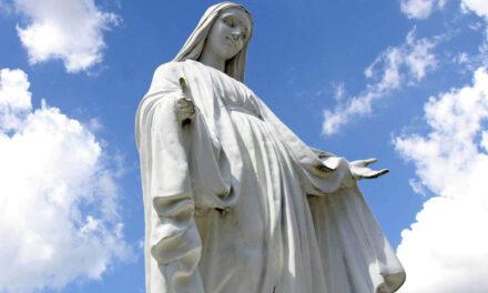A pureza de Maria reflete a beleza a que todos somos chamados.