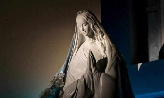 Maria é o espelho mais puro da vida de Deus