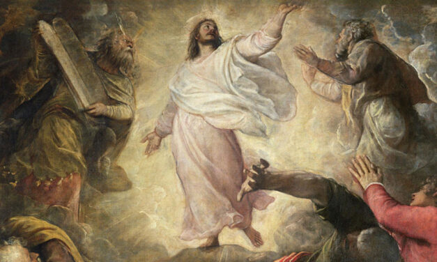 Transfigurados pela Tua Luz interior